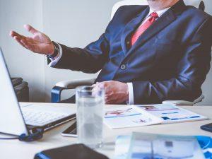 Führungskraft im Video Call © energepic